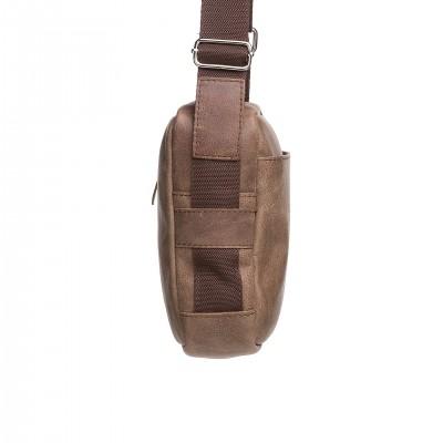 Dámska peňaženka, kroko, hnedý lak