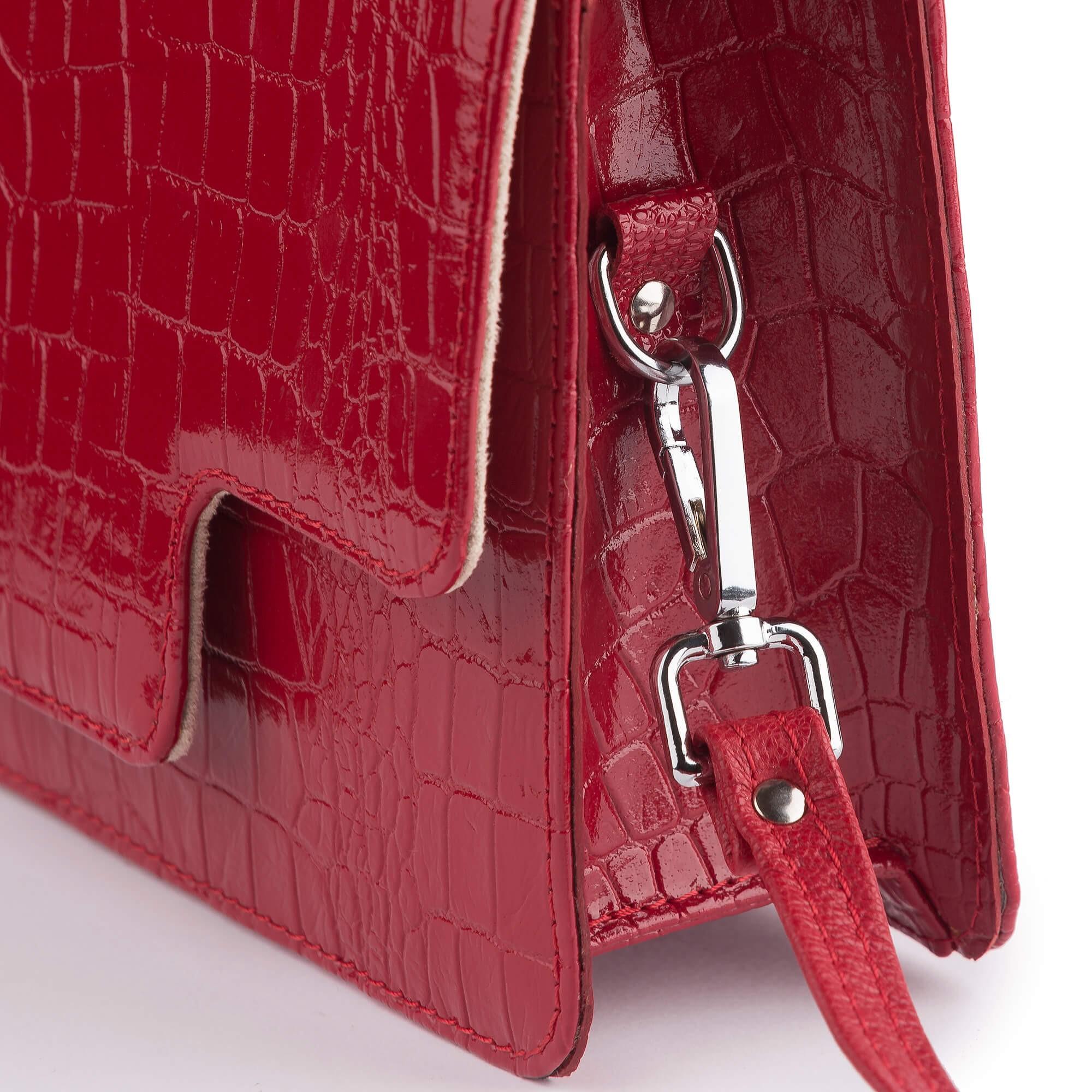 7fe5f3328c ... Dámska kožená kabelka
