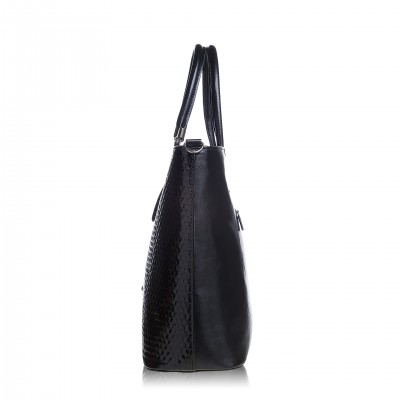 Elegantná dámska kabelka, tmavomodrá magic