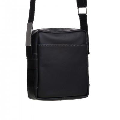 Dámska syntetická kabelka do ruky a na rameno, tmavomodrá bambus