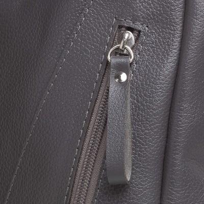 Dámska kožená crossbody kapsička,  púdrová