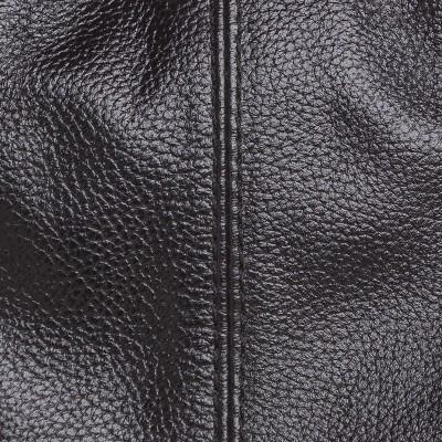 Dámska kožená kabelka cez rameno, hnedá napa