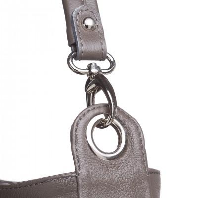 Dámska kabelka do ruky, bordová fiasola snake