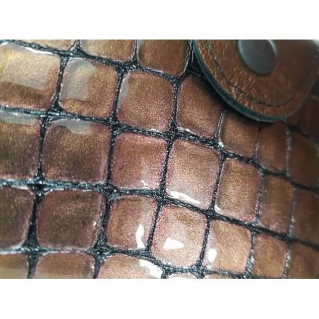 Manikúrová sada SOLINGEN, hnedý chameleon