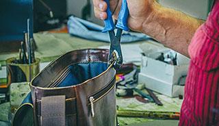 Kvalitná remeselná ručná výroba kožených doplnov